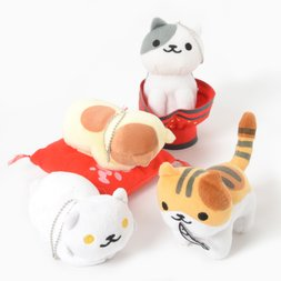 Neko Atsume Big Ball Chain Plush Collection Vol. 16