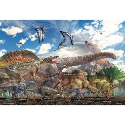 Dinosaur Size Comaprison Jigsaw Puzzle