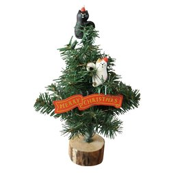 concombre Christmas Decoration Cats Climbing Christmas Tree LED Light Set