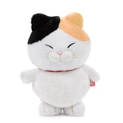 Manekko Tokotoko Hige Manjyu Walking Cat Plush Collection