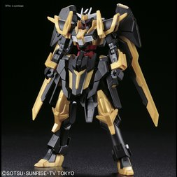 HGBF 1/144 Gundam Build Fighters Amazing Ready Gundam Schwarzritter
