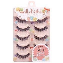 Haruka Shimazaki Vanilla Birthday Eyelashes No. 2: Bushy Volume