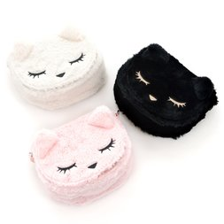 Osumashi Pooh-chan Fur Shoulder Bag