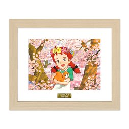 Konnichiwa Anne: Before Green Gables Chara Fine Graph Print