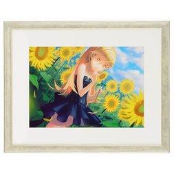 Nisio Isin Daijiten Monogatari Series Shinobu Oshino CG-i Art Print