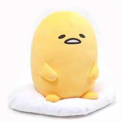 "Gudetama Signature Sitting Pose 9"" Plush"