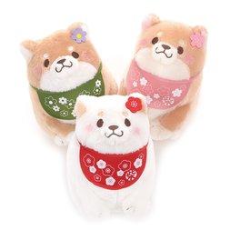 Chuken Mochi Shiba Girls Stylish Plush Collection