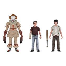 Action Figures: It - Pennywise Richie Eddie 3-Pack Set