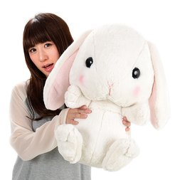 Pote Usa Loppy Shiloppy Rabbit Super Big Plush
