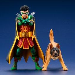 ArtFX+ DC Universe Robin & Bat‐Hound