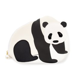 FLAPPER Panda Applique Pouch