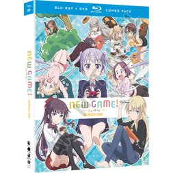 New Game!: Season 1 Blu-ray/DVD Combo Pack