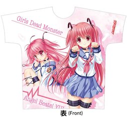 Angel Beats! Full Color Yui T-shirt (L)
