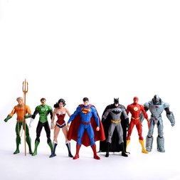 New 52 Justice League 7-Pack Action Figure Box Set