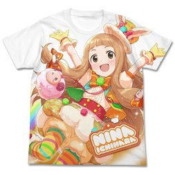 The Idolm@ster Cinderella Girls Many Friends Nina Ichihara Full-Color White T-Shirt