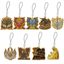 Monster Hunter: World Monster Icon Stained Strap Collection Rekisenou Box Set