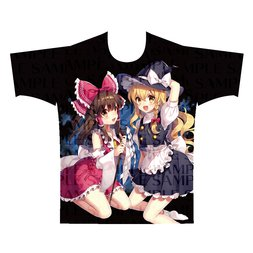 Touhou Project Reimu and Marisa Full Color T-Shirt