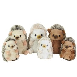 Fluffies Hedgehog Plush Collection