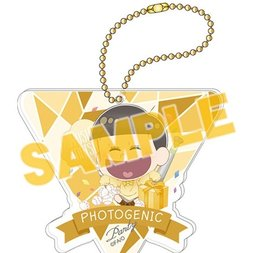 Osomatsu-san Photogenic Party Jyushimatsu Big Acrylic Ball Chain Charm