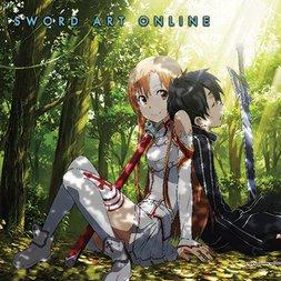 Sword Art Online - Kirito & Asuna Forest Wall Scroll