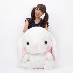 Pote Usa Loppy Shiloppy Rabbit Plush (Super Jumbo)