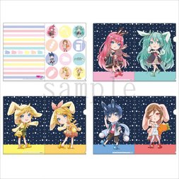 Hatsune Miku Otsukimi Party Youno Ver. A4-Size Clear File Set