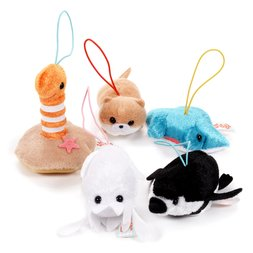 Puchimaru Aquarium Animal Plush Collection (Mini Strap)