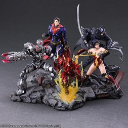 Justice League Variants: Trading Arts Box Set