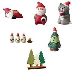 concombre Christmas Night Camp Diorama Collection