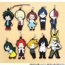 My Hero Academia Anime Edition Casual Clothes Rubber Strap Collection