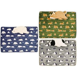 Nemu Nemu Animals Blanket in Cushion Series