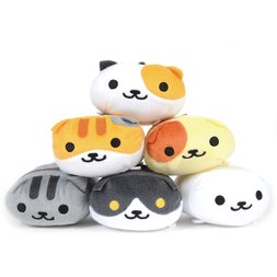 Neko Atsume Nosekotto Plush Collection Vol. 2