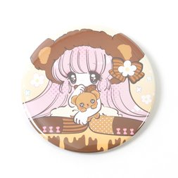 Honey Kuma-chan Tin Badge