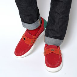 Marqui EVA Toy Slip-On Shoes (Red)