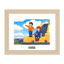 """""""Marco & Fiorina"""" Chara Fine Graph Print"""