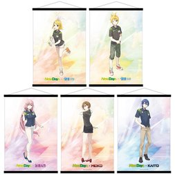 Vocaloid x NewDays B2 Tapestry Collection