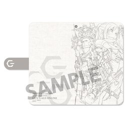 Sword Art Online Alternative: Gun Gale Online Teaser Visual Notebook-Style Smartphone Case