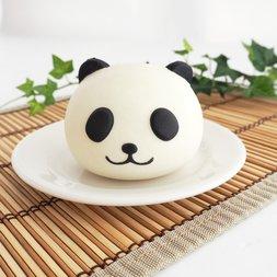 Mother Garden Hokahoka Nikuman Panda Nikuman Squeeze Toy