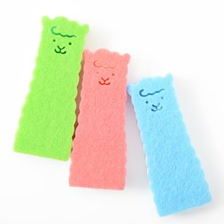 Alpaca Long Sponges (3-Color Set)