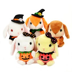 Pote Usa Loppy Halloween Rabbit Plush Collection (Standard)