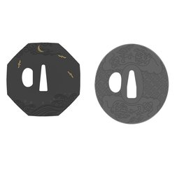 Samurai Warrior Dining Ware: Tsuba Coaster