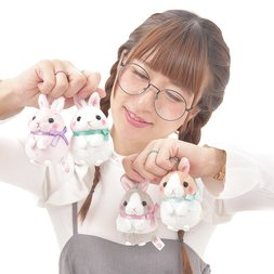 Usa Dama-chan Standing Up Rabbit Plush Collection (Mini Ball Chain)