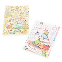 Sumikko Gurashi Oheya no Sumi de Tabikibun 5-Pocket Index File