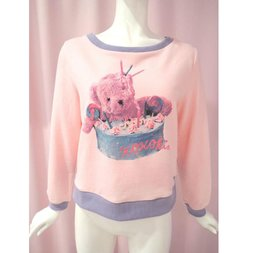 KOKOkim Happy Revival Bear Long Sleeve T-Shirt