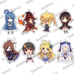 Sneaker Bunko 30th Anniversary Konosuba: God's Blessing on This Wonderful World! Collectable Acrylic Keychain Box Set