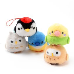 Kotori Tai Yama no Saezuri Bird Plush Collection (Mini Strap)