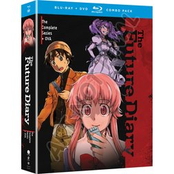 Future Diary: The Complete Series + OVA Blu-ray/DVD Combo Pack