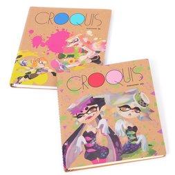 Splatoon Croquis Square-Size Sketchbook