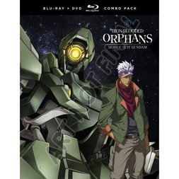 Mobile Suit Gundam: Iron-Blooded Orphans: Season 1 Part 2 Blu-ray/DVD Combo Pack