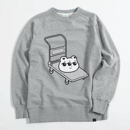PARK Single Heikou Kumame Cart Sweater